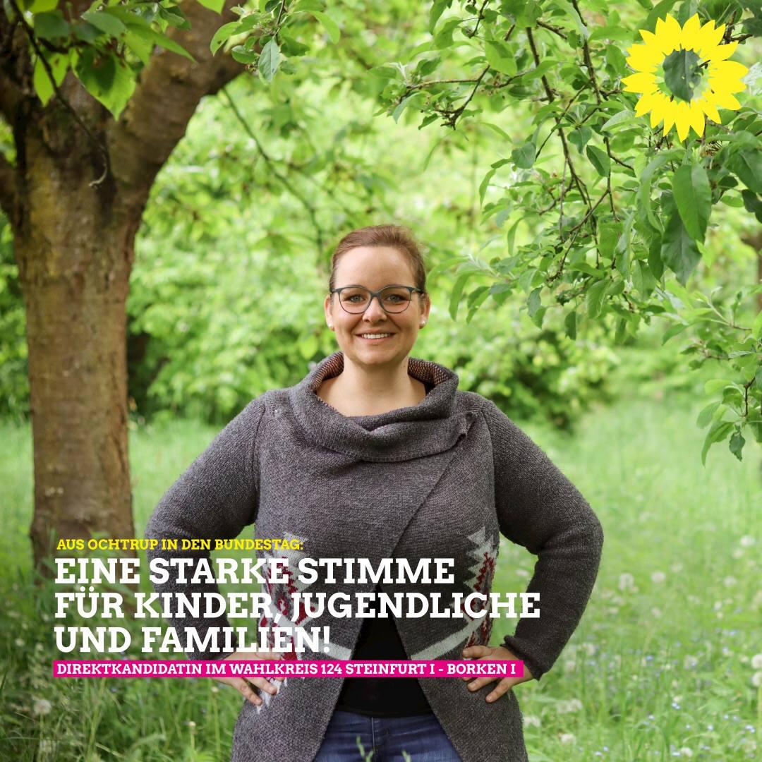 100% Direktkandidatin Steinfurt I/ Borken I