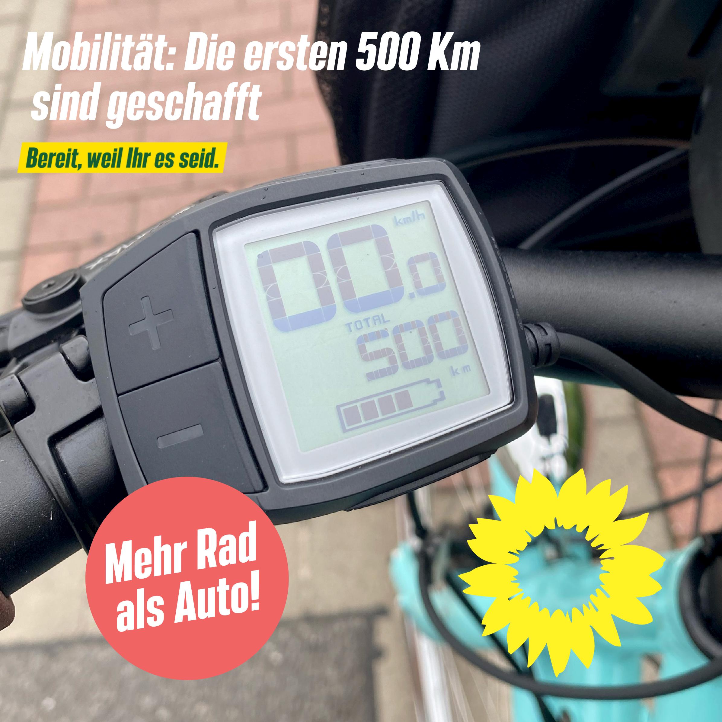 Mobilität: Die ersten 500 km