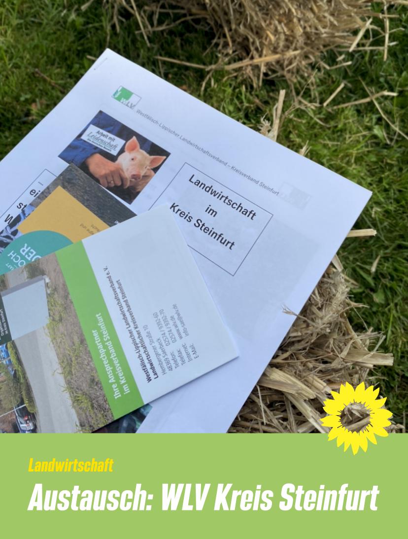 Austausch Westfälischer Landwirtschaftsverband Kreis Steinfurt