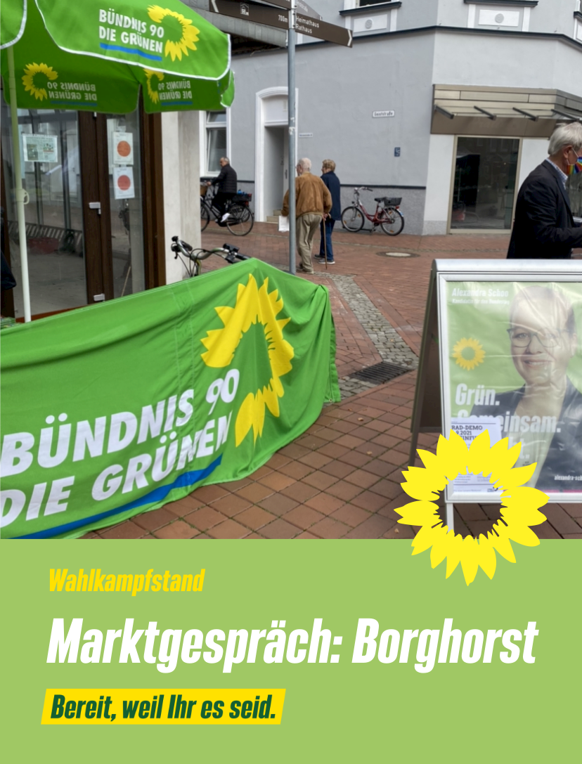Marktgespräch: Borghorst