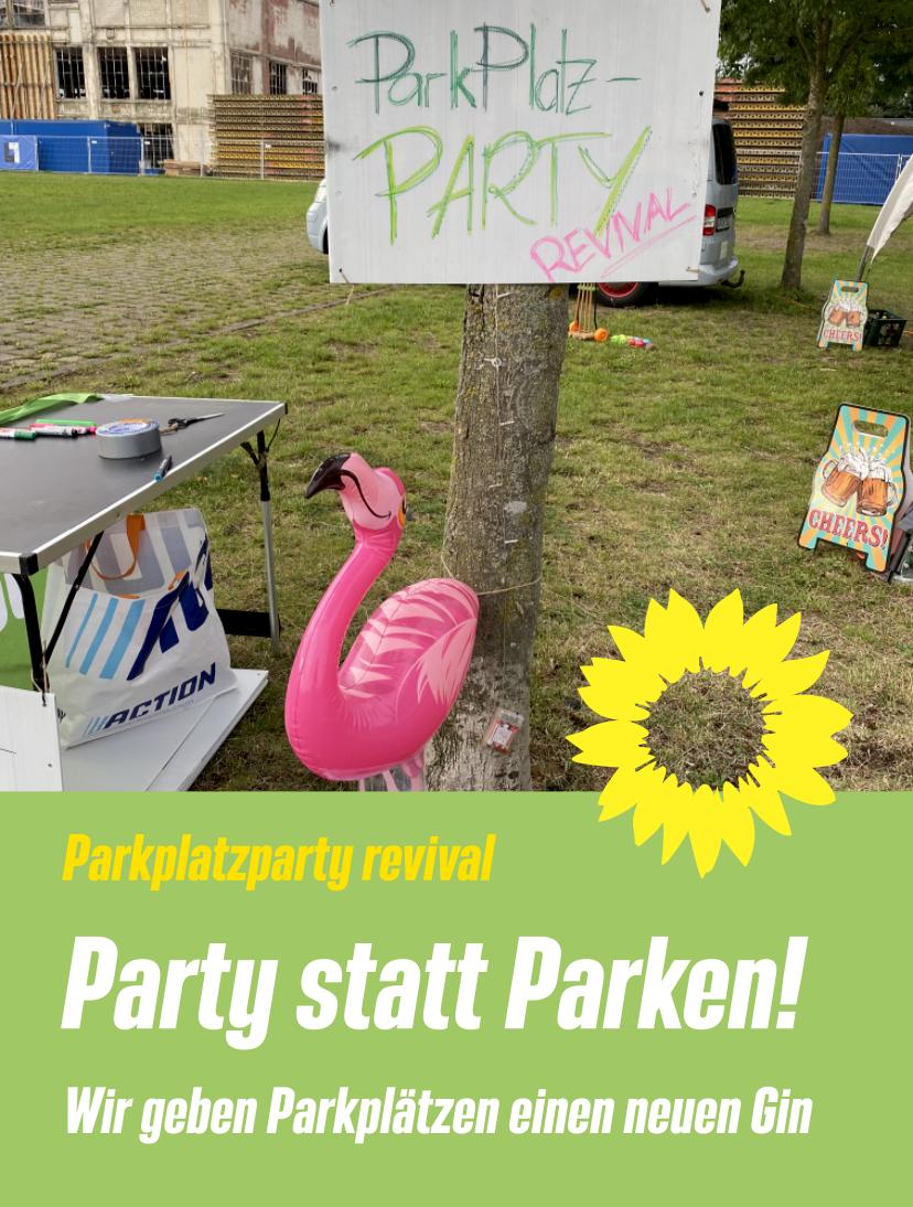 Party statt Parken!