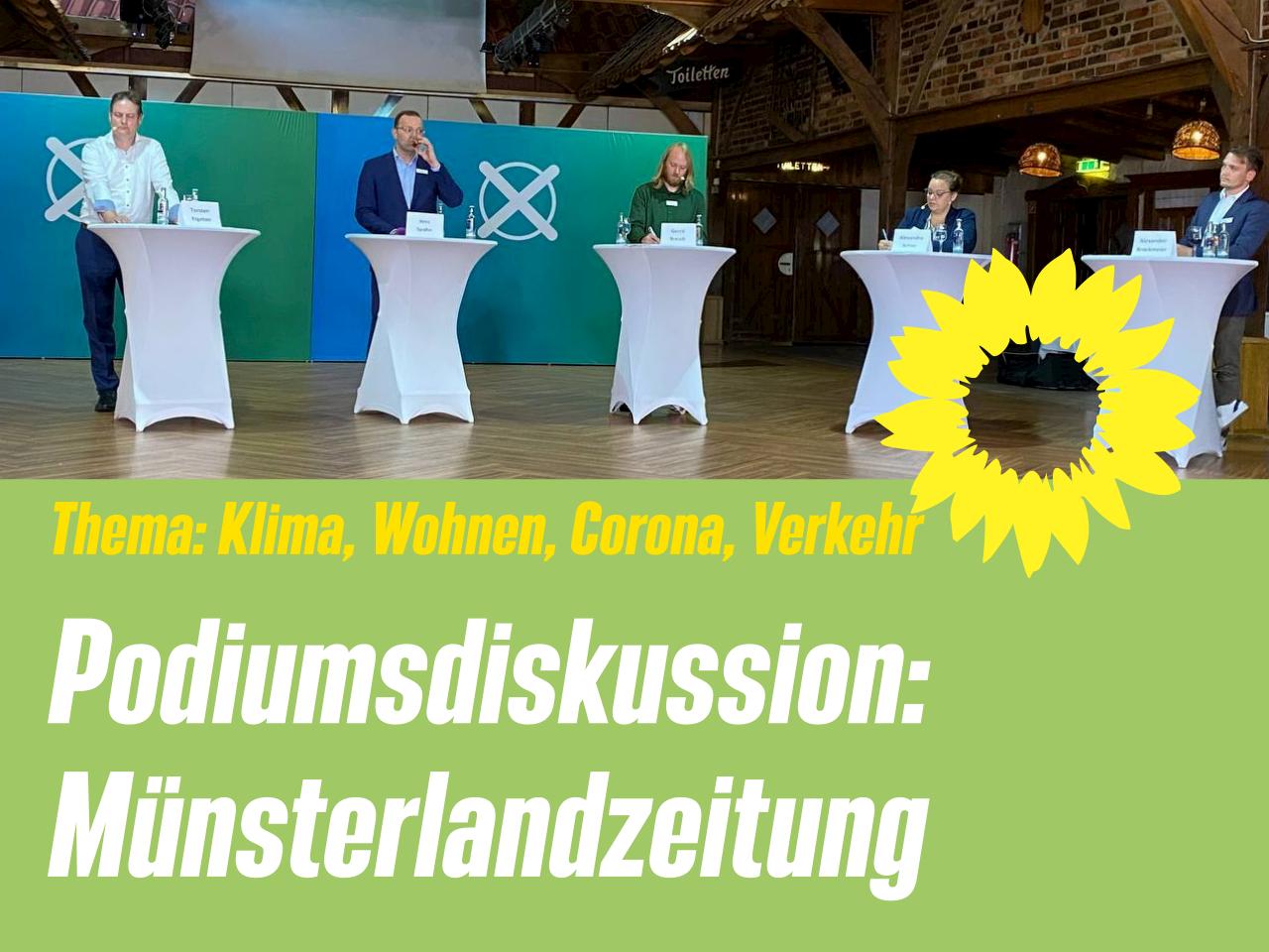 Podiumsdiskussion: Münsterlandzeitung Kreis Borken
